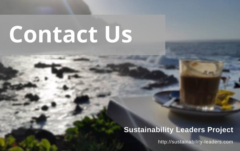 How to contact Sustainability Leaders Project