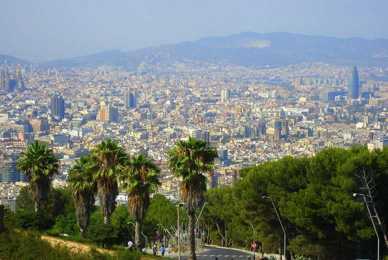 Impact of tourism on Barcelona city as popular travel destination