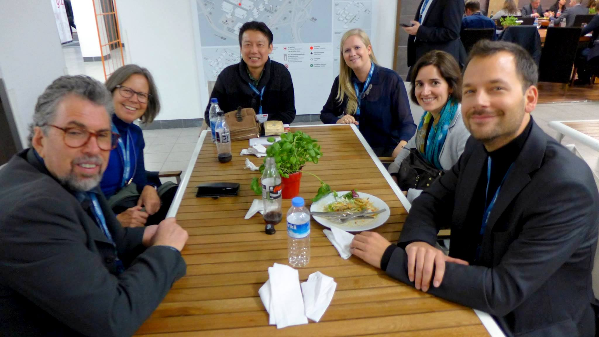 Sustainability Leaders Project team at ITB Berlin 2016
