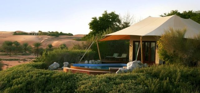 Al Maha Desert Resort Dubai sustainability strategy
