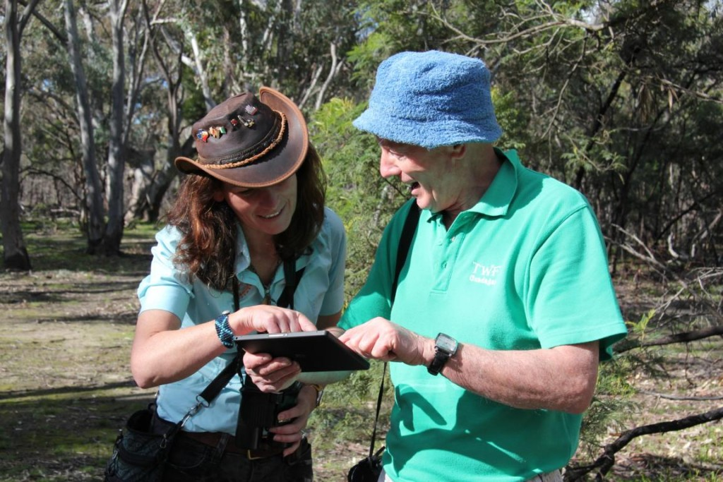 Janine Duffy on Echidna Walkabout Wildlife tour