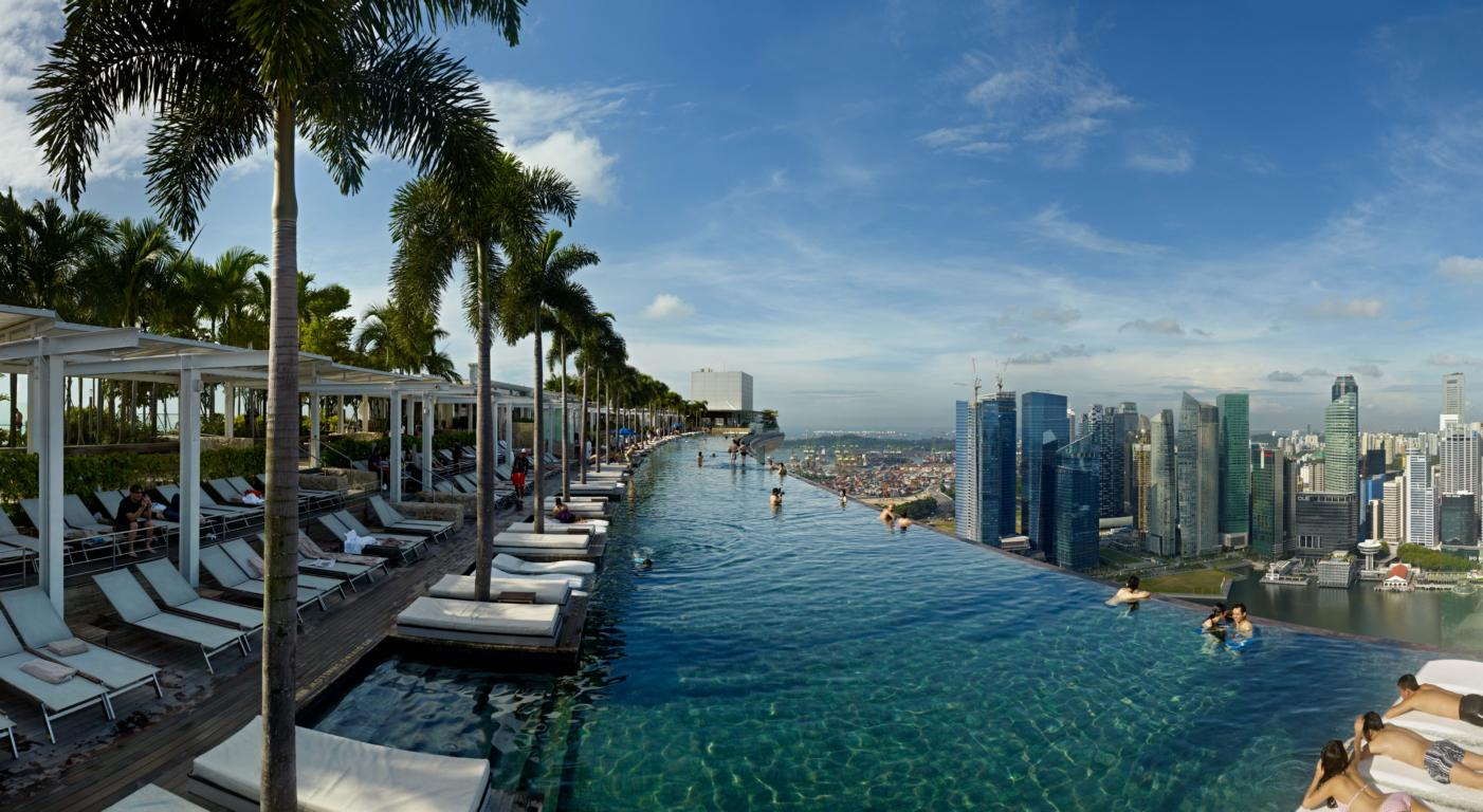 SkyPark at Marina Bay Sands in Singapore