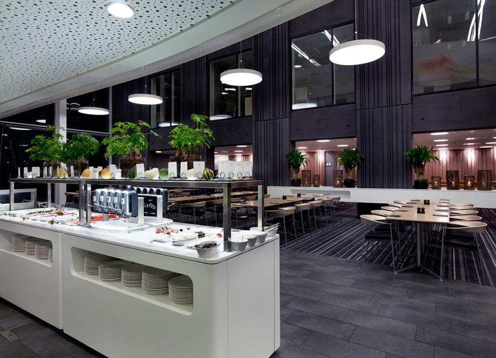 Crowne Plaza Copenhagen Towers cafe