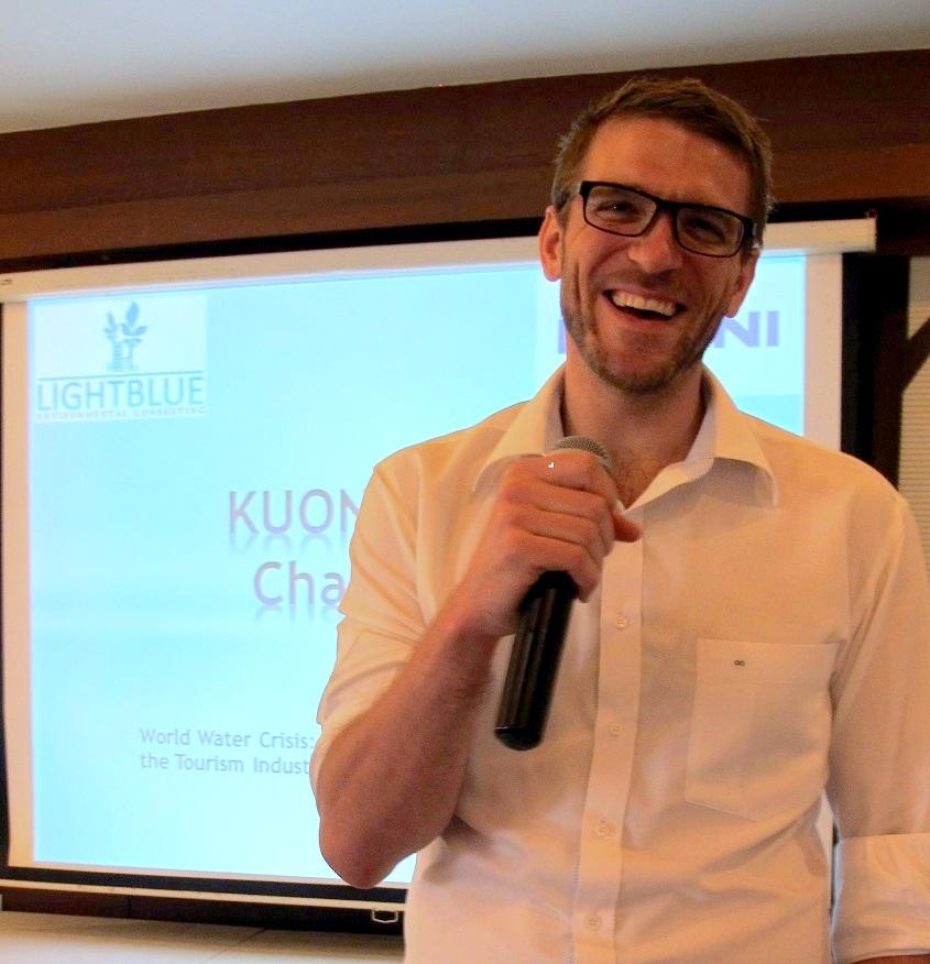 Hotel Sustainability Expert Benjamin Lephilibert