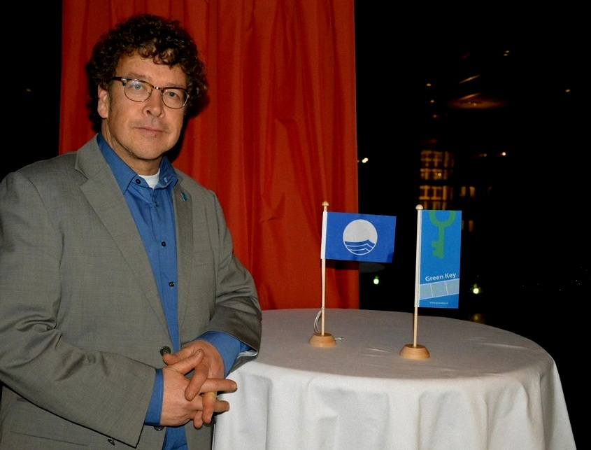 Green Key sustainable tourism expert Erik van Dijk