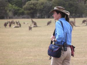 Janine Duffy of Echidna Walkabout Wildlife Tours Melbourne