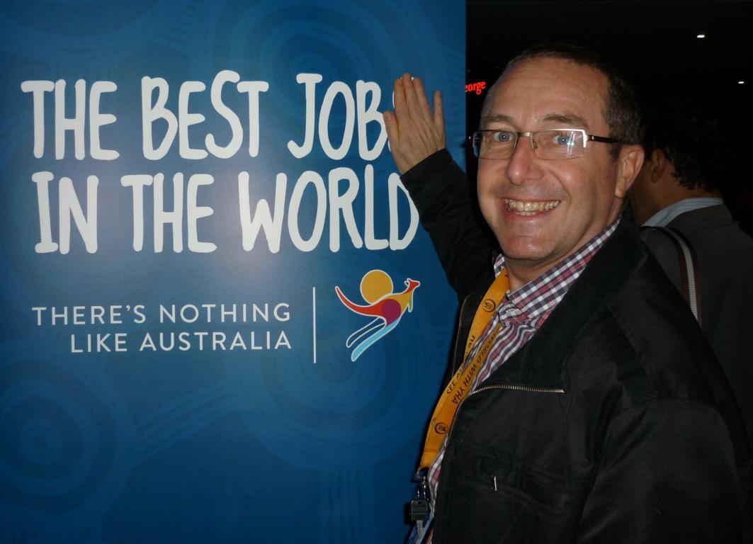 Ross Lardner, Manager del YHA Bahía de Sídney, Australia