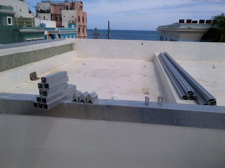 Solar panel installation Casa Sol Puerto Rico