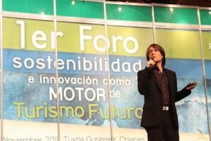 Ronald Sanabria de Rainforest Alliance en turismo sostenible