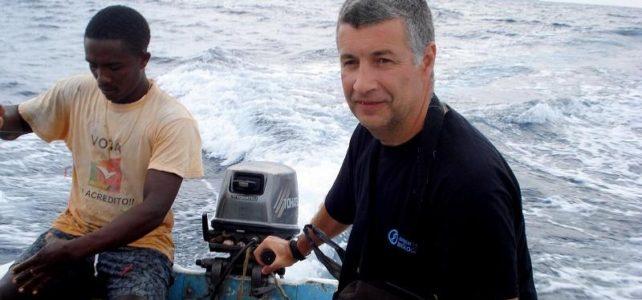 Antonio Abreau at Principe Island, Africa
