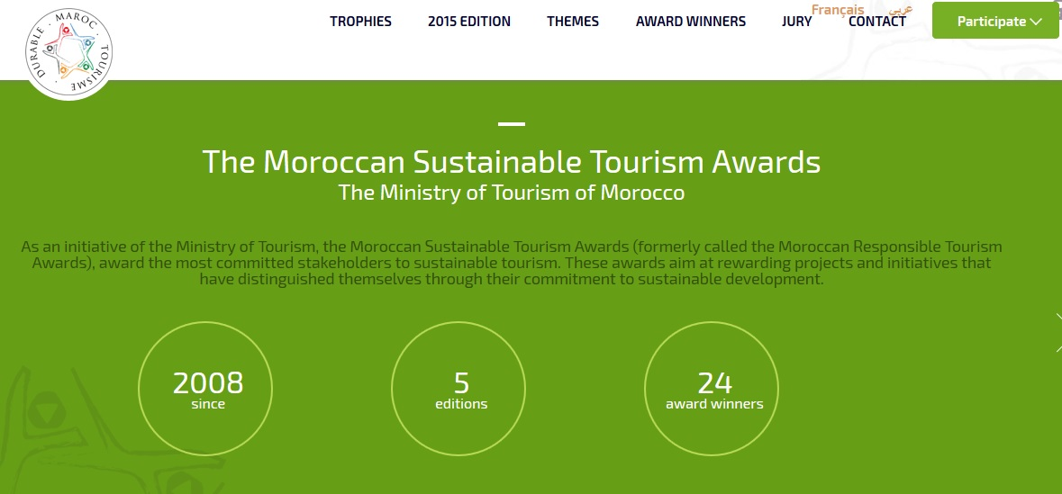 Morocco sustainable tourism awards
