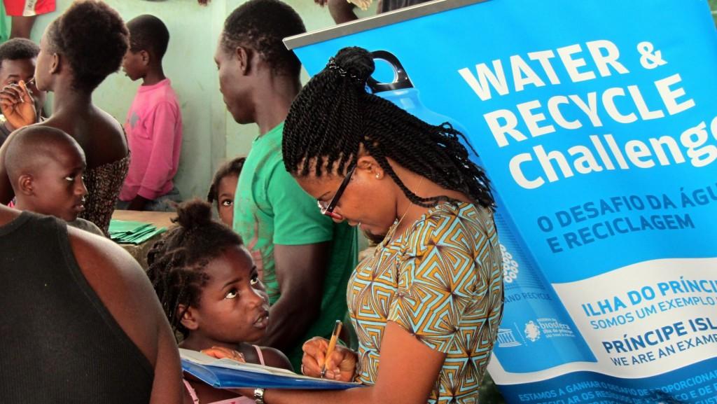UNESCO Biosphere water project Principe Island
