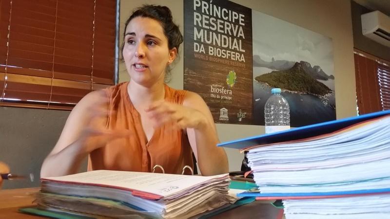 Estrela Matilde at Bom Bom Island, Principe