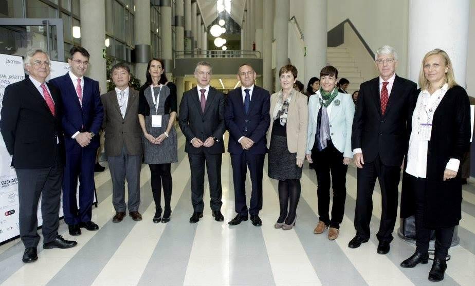 Lideres en la Cumbre Mundial Turismo Sostenible - Vitoria-Gasteiz 2015