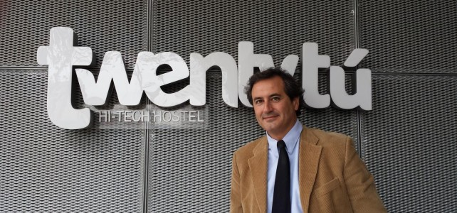 Interview: Ignasi Uñó, CEO of Twentytú Hi-tech Hostel, Barcelona