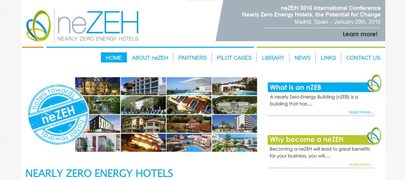 neZEH Nearly Zero Energy Hotels, Feria Internacional de Turismo en España