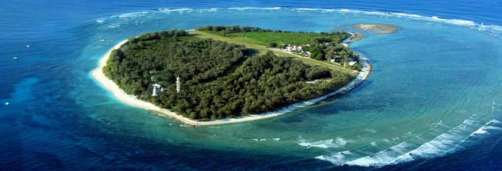 Lady Eliott Island, sustainable tourism example from Queensland, Australia