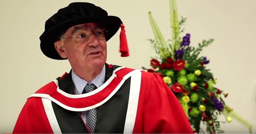 John Elkington, honorary doctorate Essex University
