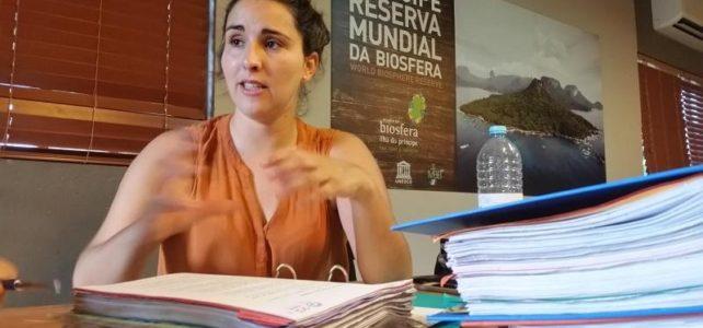 Entrevista con Estrela Matilde, Gerente de la Reserva de la Biosfera en Isla Príncipe, África