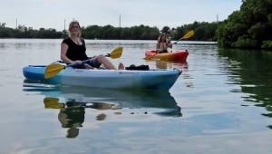 Lauren Melde Kayaking ESTC 2016