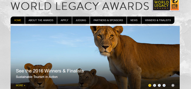 World Legacy Awards 2016 and other Sustainable Tourism Highlights at ITB Berlin
