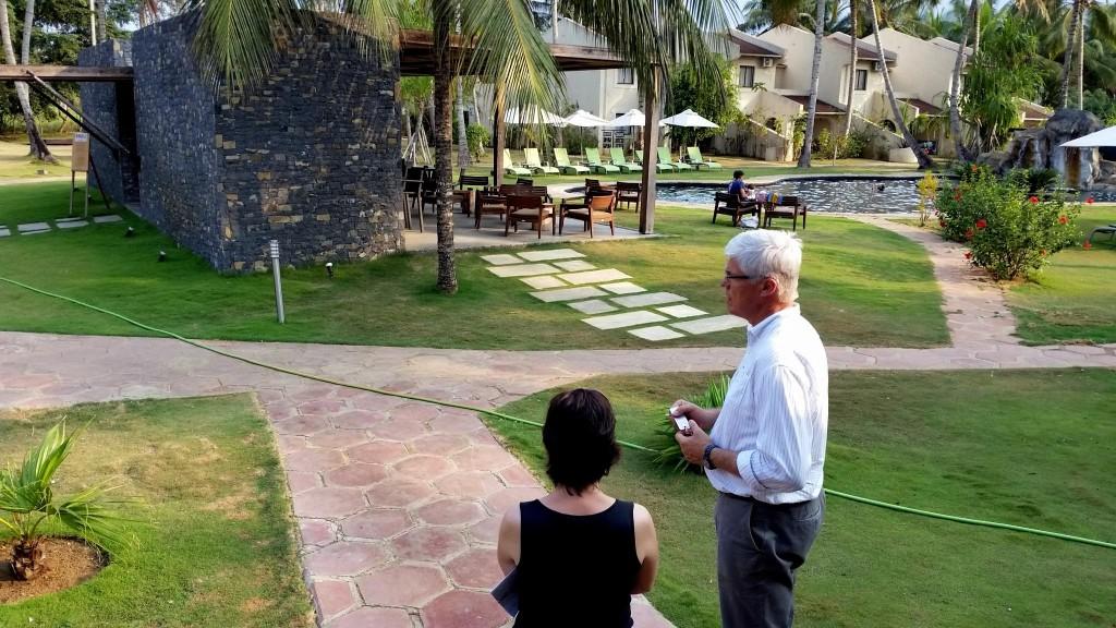 Tour sobre sostenibilidad en Omali Lodge Sao Tome
