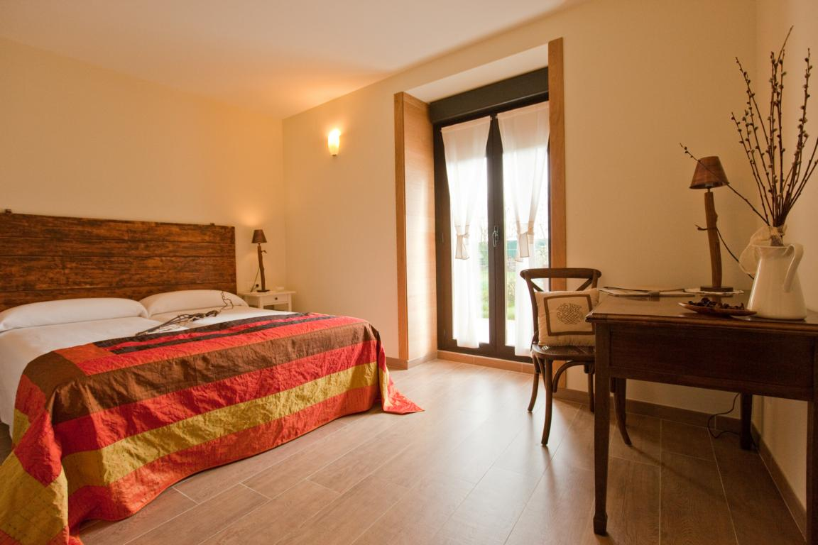 Double room Agroturismo Arkaia Accessible Tourism Basque Country