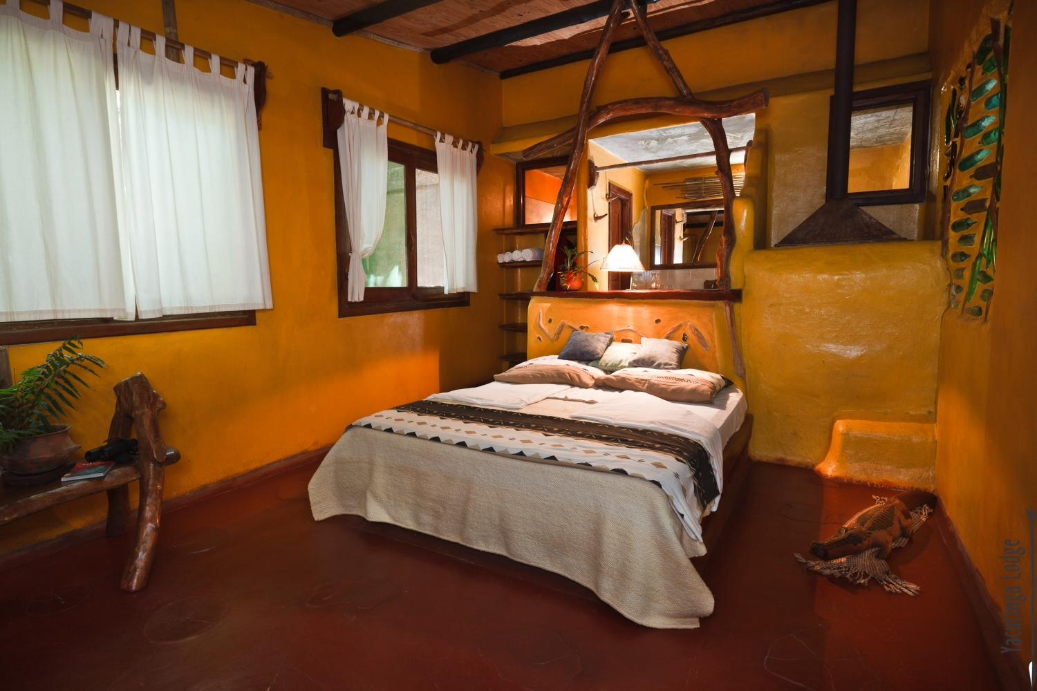 Double room at Yacutinga Lodge, Argentina