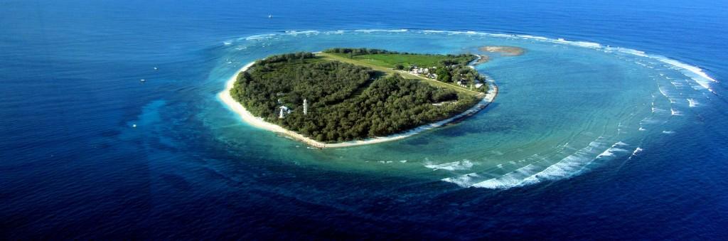 Isla Lady Elliot en la Gran Barrera de Coral, Queensland, Australia