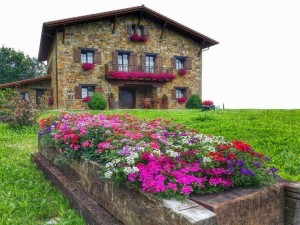 Lurdeia in spring, Basque Country Agrotourism