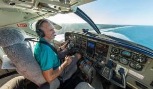 Piloto Peter Gash, Isla Lady Elliot Queensland Australia