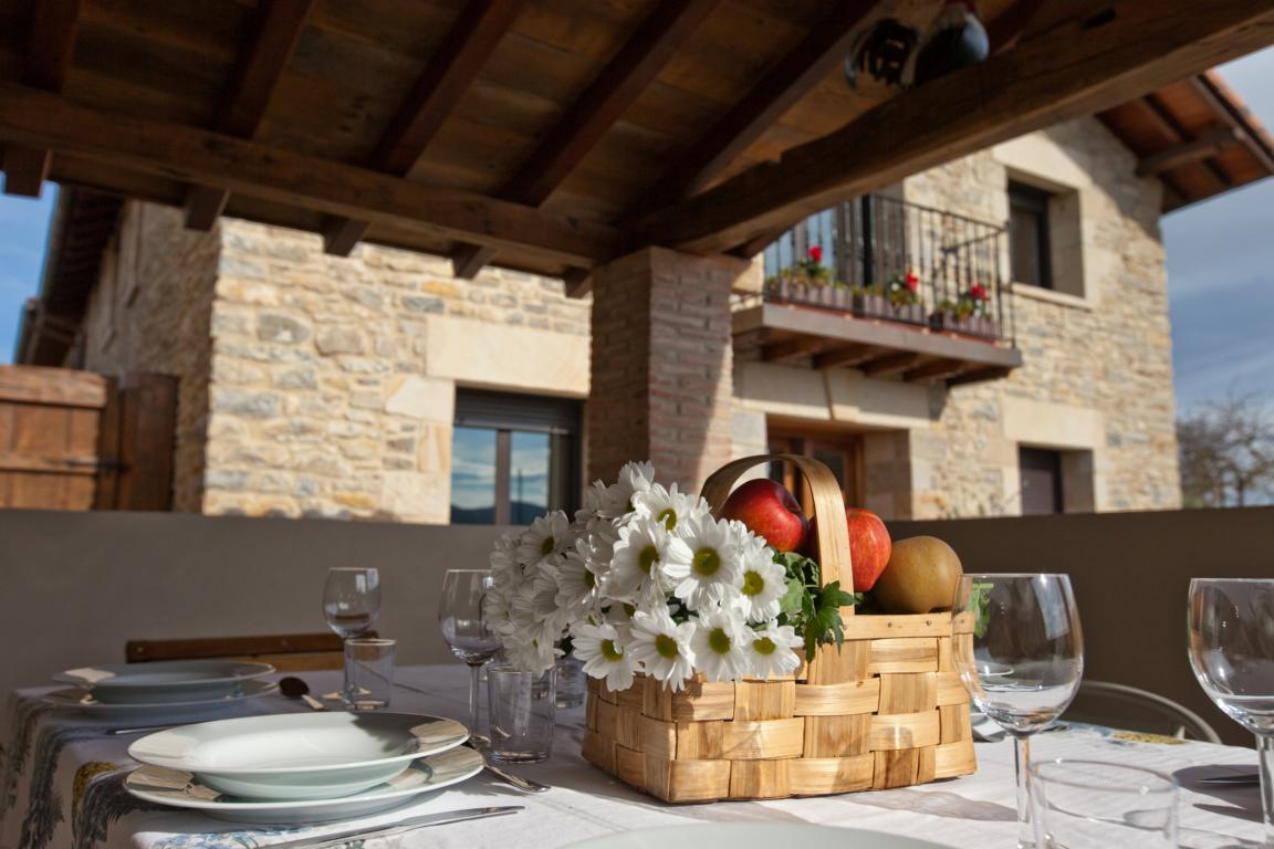 Vista des de fuera Agroturismo Arkaia Turismo accesibe Pais Vasco