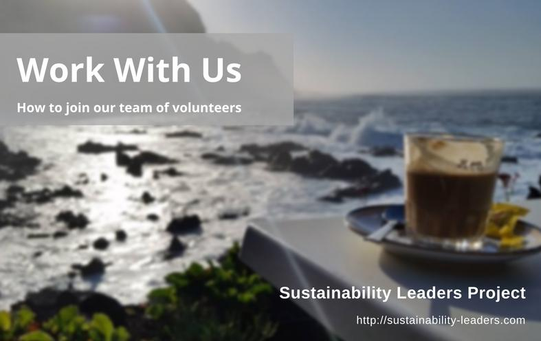 Volunteering opportunities - how to join the Sustainability Leaders Project