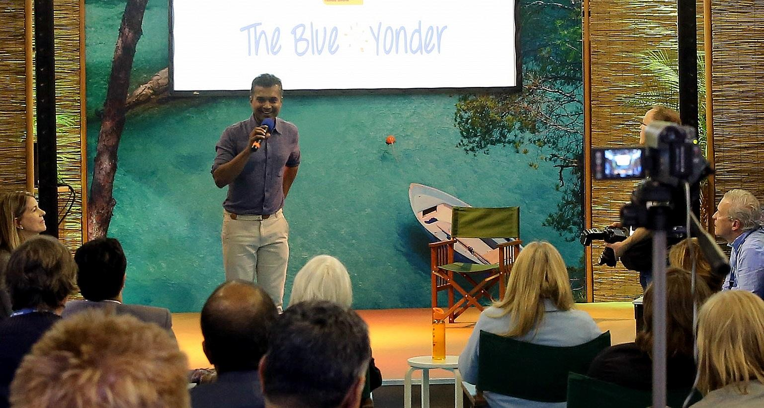 Gopinath Parayil of The Blue Yonder at ITB Berlin