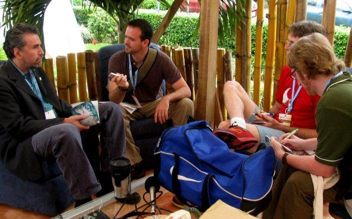 Glenn Jampol at Expotur 2010