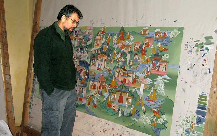Glenn Jampol in Bhutan