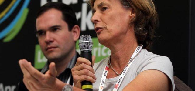 Ariane Janer at World Travel Market Latin America