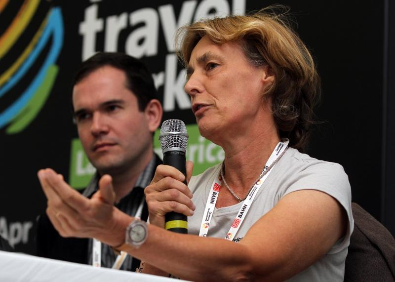 Ariane Janer at World Travel Market Latin America