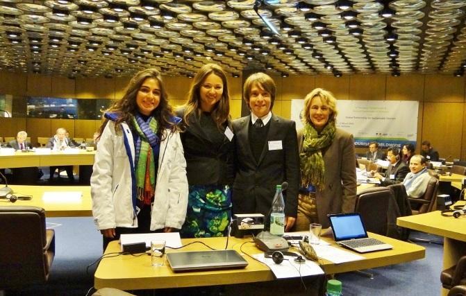 Ecotourism expert Ariane Janer in Bonn