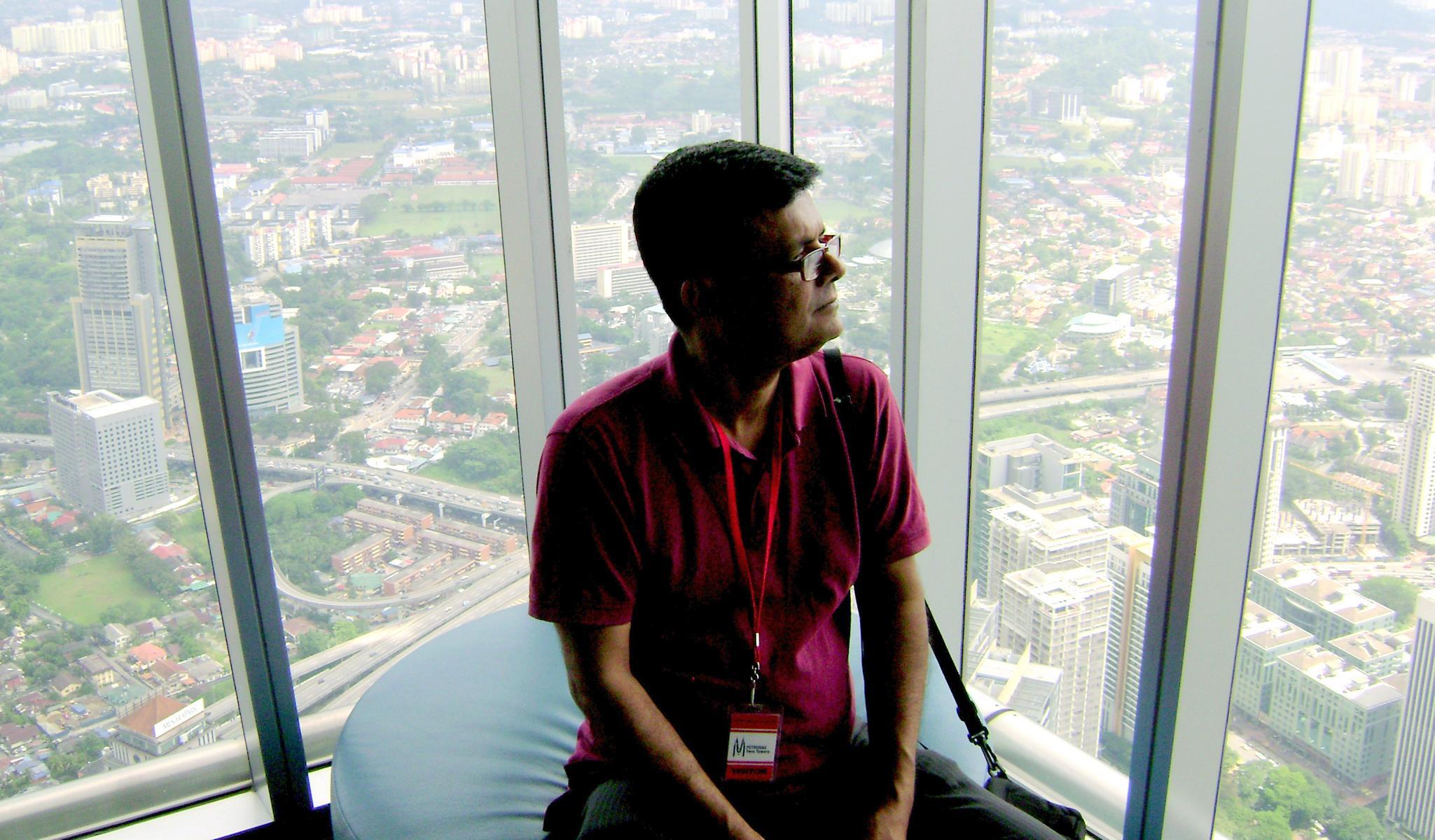 Ecotourism expert Monzur Huq