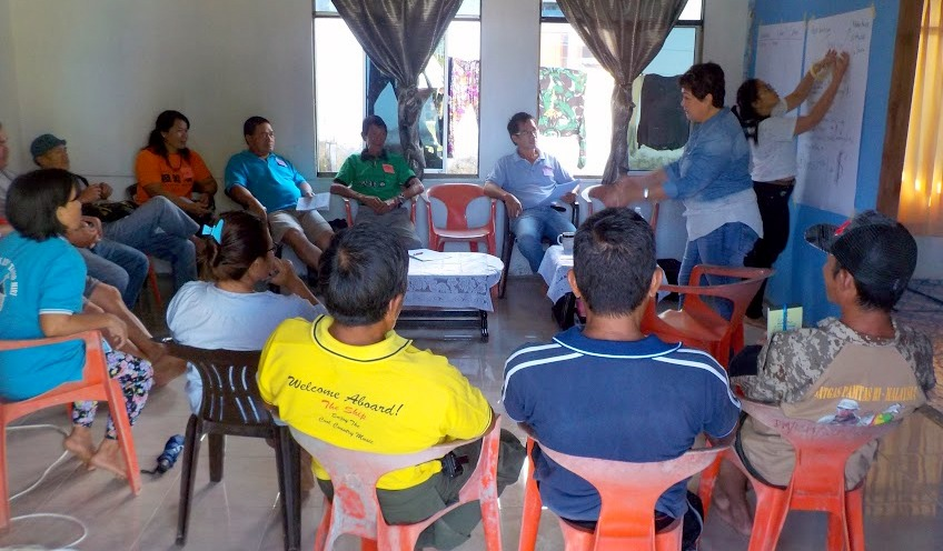 Long Semadoh Village Heads attending tourism workshop