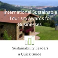 Quick Guide: International Sustainable Tourism Awards for Businesses