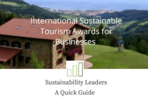 Quick Guide International Sustainable Tourism Awards