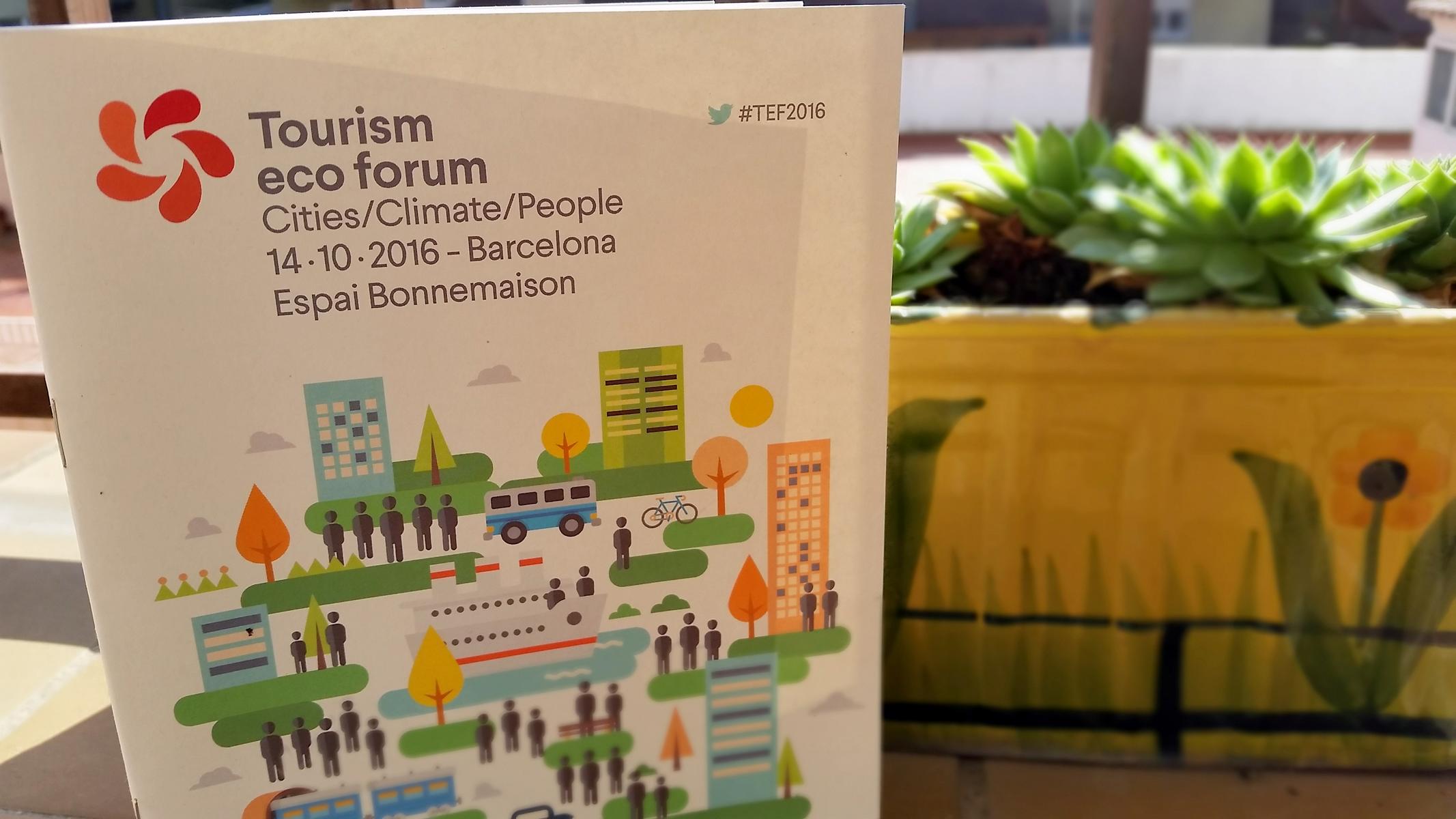 Barcelona tourism eco forum summary