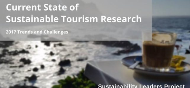 Sustainable tourism research: current trends and challenges
