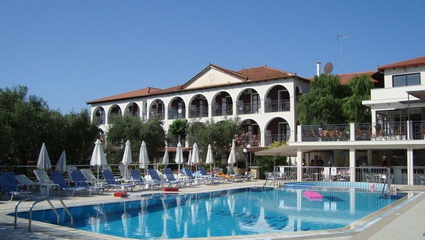 El Hotel Castelli en Grecia