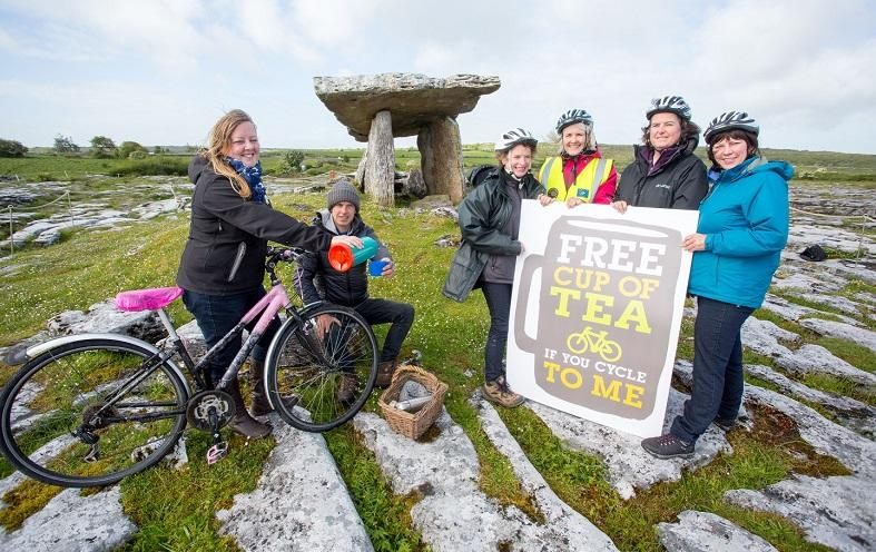 Burren Geopark Ireland sustainable destination example