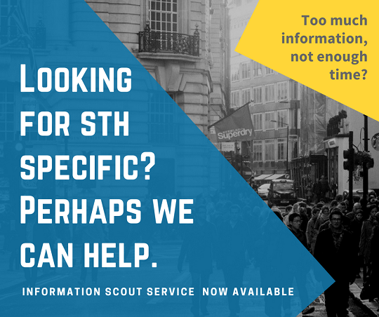 Information scout service for tourism professionals interested in sustainability
