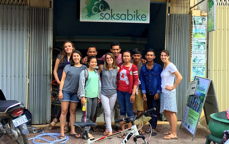 Soksabike responsible tour business in Cambodia