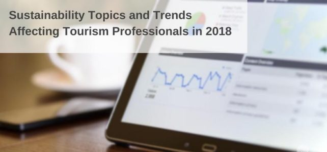 Tourism sustainability topics trends 2018